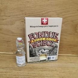 Fondue Moitié-Moitié boite de luxe 400g + Kirsch