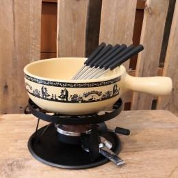 Set à fondue 9 pce Scherenschnitt