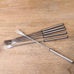 Fourchettes manche chrom 3-dents