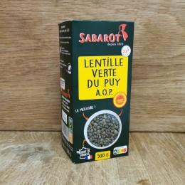Lentilles Vertes du Puy AOP 500g