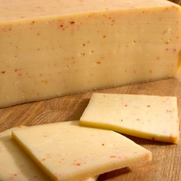 Raclette cheese with paprika